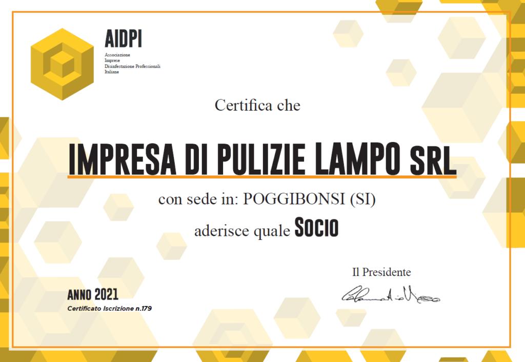 Certificazione AIDPI